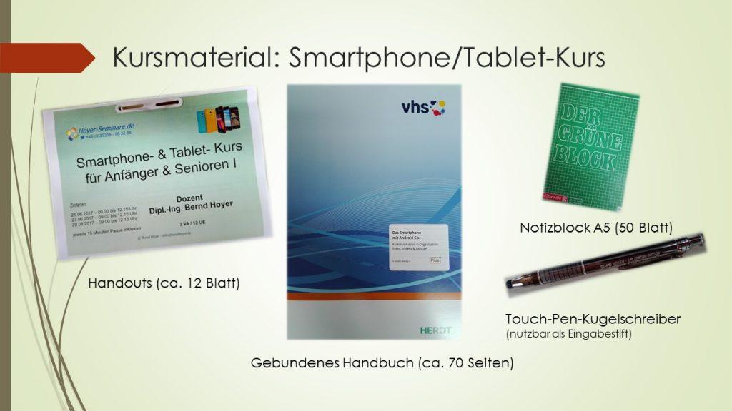 Smartphone/Tablet-Kurs